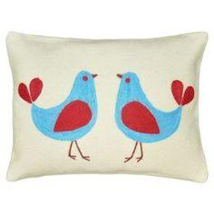 Twin Bird Pillow