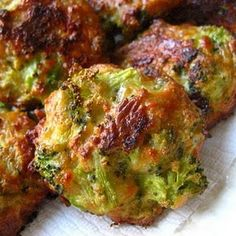 Broccoli Cheese Bites (Made these tonight and they were FANTASTIC!)