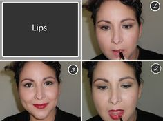 Classic Vintage Look Beauty Tricks, Vintage Looks, Lips, Classic, Derby, Beauty Hacks, Beauty Tips, Classical Music, Beauty Secrets