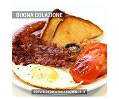 Colazione all'inglese o tradizionale ? Buona colazione a tutti !!