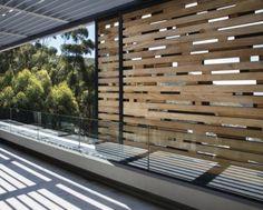 Second floor house terrace design