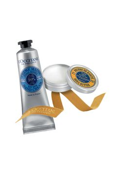 Outsmart winter weather with these shea butter finds-- I LOVE my shea butter cream from L'Occitane.  Smells great and works on dry skin