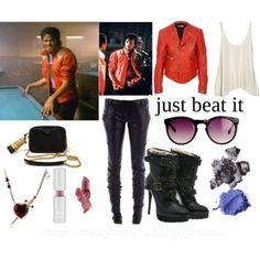 Michael Jackson Inspired Looks: Beat It