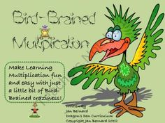 Bird Brained Multiplication from DragonsDenCurriculum on TeachersNotebook.com (163 pages)  - Make learning multiplication facts easier and more fun with this resource!