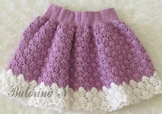 Click to view pattern for - Crochet skirt for girl