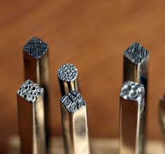 Valerie Tyler Designs - Jewelry: Tools of the Trade: Texturing and Design in Jewelry