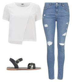 """Untitled #369"" by citlalymichel ❤ liked on Polyvore featuring Topshop, Vero Moda and Madewell"
