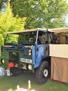 Unique Land Rover 101 converted into a mobile bar! For Sale (1986)