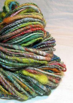 Handspun Art Yarn Sheeping Beauties 'Roller by SheepingBeauty