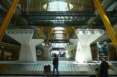 Madrid Barajas Airport - Richard Rogers