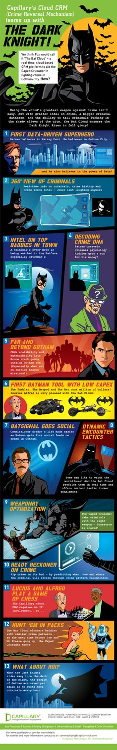 The Dark Knight   #Infographic #Business #Marketing