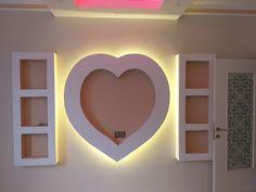 Gypsum Ceiling Design, House Ceiling Design, Bedroom False Ceiling Design, Tv Unit Design, Tv Wall Design, Single Floor House Design, Girls Bedroom Sets, Modern Tv Wall, Tv Wall Decor