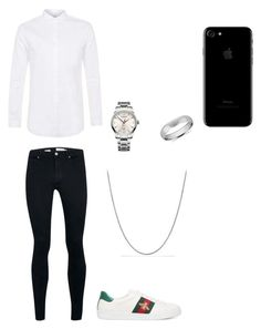 """men's polyvore"" by jesy-smith on Polyvore featuring mode, Topman, Gucci, Victorinox Swiss Army, David Yurman et Blue Nile"