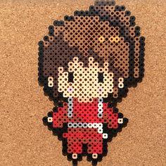 Spirited Away by tsubasa.yamashita fuse beads hama beads nabbi beads nano beads perler beads アイロンビーズ 拼豆 拼拼豆豆