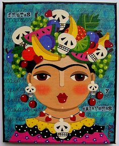 Frida, Fruits and Skulls