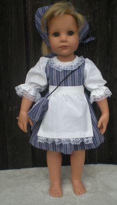 Dirndl, Dirndlkleid, Puppenkleid.  Für ca. 48, 49, 50  cm große Stehpuppen( 36)