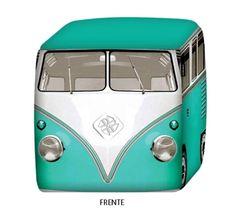 Pufe Criativo Kombi Retro - Presentes criativos, diferentes e originais - Monky Design