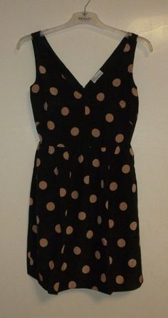 526bd5a3c13c1 ...  clothing  shoes  accessories  womensclothing  dresses (ebay link).  Kandice Horan · Dresses · Red Valentino Black Polka Dot Dress Size 44 Ladies  UK Sz ...