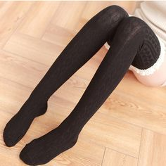 2 Pairs Women Extra Long Opaque Striped Socks Women Over Knee High Stockings Novelty Netherstock