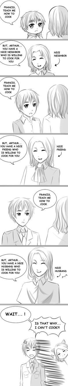 I made another FrUK comic~~~ yay~~~  //slapped This comic's plot is kinda obvious... But I'll explain it just in case...So basically, Arthur and Francis have known each other since they ...