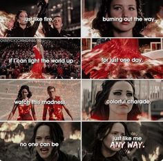 Image about fire in The Hunger Games ♥🏹 by м¡gg¡