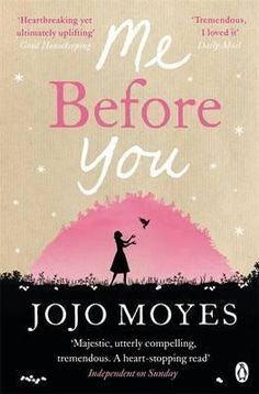 Me Before You by Jojo Moyes, finished January 2015. I got completely wrapped up in this story. I laughed, dreamed, and cried throughout. So many good life lessons are waiting in this story. A must read.