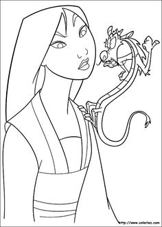 12 Best Mulan Images Coloring Pages Coloring Pages For Kids Colors