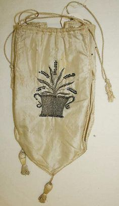 Purse (image 2) | European | 1800-1810 | Metropolitan Museum of Art | Accession #:  C.I.39.13.63