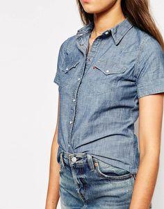 17d88d8ab9947 Camisa vaquera de manga larga de Levi s
