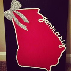 Canvas that I painted for my beautiful, wonderful big.