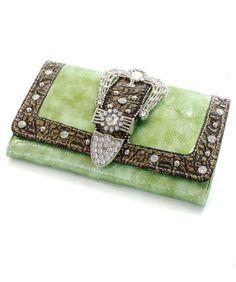 Amazon.com: Lime Green Crocodile Rhinestone Buckle Western Wallet for Women: Shoes Cute Wallets, My Style, Country Style, Wallets For Women, Crocodile, Westerns, Women Accessories, Lime, Handbags