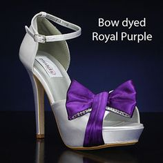 DYEABLES JAY WHITE Wedding and Bridesmaids Shoes WHITE Bridal Shoes, IVORY Bridal Shoes
