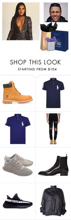 """""""merry christmas baby ❤⛄"""" by i-am-yeezus ❤ liked on Polyvore featuring A BATHING APE, Timberland, Polo Ralph Lauren, AMIRI, adidas Originals, Yves Saint Laurent and adidas"""