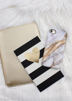 Marble in Copper ◾️◽️ Available for iPhone 7 & iPhone 7 Plus from Elemental Cases