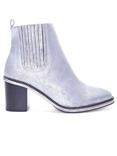 Kicking It: Shop Fall Top Trends in Boots - Full Metal - Opening Ceremony Silver Boots, Metallic Boots, Fashion Articles, Boot Shop, Opening Ceremony, Simple Outfits, Bootie Boots, Ankle Boots, Me Too Shoes