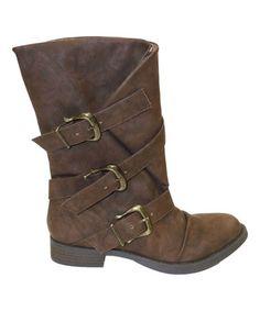 Look what I found on #zulily! Brown Norris Boot #zulilyfinds