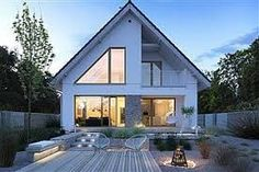 Картинки по запросу projekty domow My Dream, Outdoor Decor, Modern, Inspiration, House Ideas, Home Decor, Google, Facades, Architecture