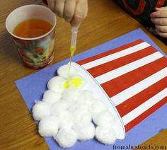 fine motor activities for preschool - circus preschool theme