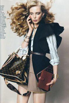 Vogue Spain June 2010, Tanya Dziahileva