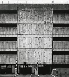 Simon Henley's new book, The Architecture of Parking (Thames & Hudson, casts an objective eye over car parks, one of the most important but most neglected building types of the modern era, and finds a strange and haunting beauty. Graffiti I, Park Art, Constructivism, Typography, Lettering, Environmental Graphics, Built Environment, Brutalist, Car Parking