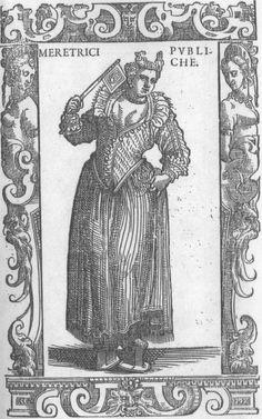 Venetian-16th-century-prostitute-from-Cesare-Vecellio