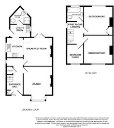 3 bed house floor plan rear extension google search redwing angel rd floor plan malvernweather Choice Image