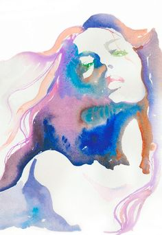 Serious talent. Watercolor is one of the most difficult mediums to master.