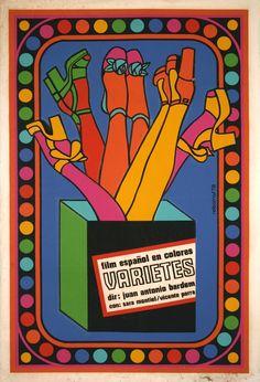 Cuban Movie Poster by Antonio Fernández Reboiro, 1978