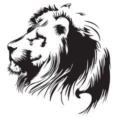 Lion Head Animal Wall Sticker Decal | eBay