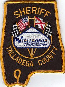 Alabama sheriff badge: Super Speedway