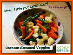 This recipe is straight from Beachbody's 3-Day Refresh!!  This was an instant family favorite!