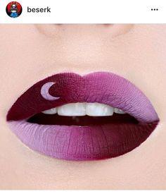 Moon lipstick maroon use lip