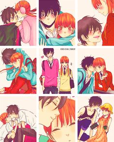 Haru and Shizuku by k3iko-chan on deviantART | Tonari no Kaibutsu-kun | Brain's Base | Robico