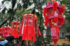 Guangzhou Temple Fair in Lantern Festival.